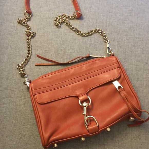 Rebecca Minkoff Handbags - Rebecca Minkoff Mini M.a.c Leather Cross Body Bag